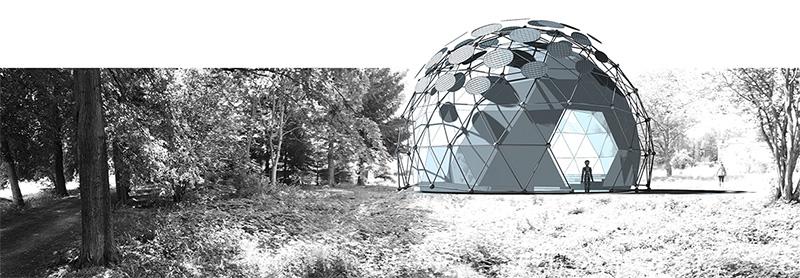 Klima-Pavillon auf der Landesgartenschau Apolda 2017
